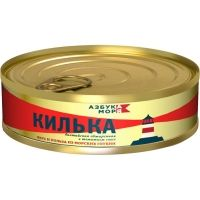 Килька Балтийская Азбука моря неразделанная обжаренная в томатном соусе ключ ж/б