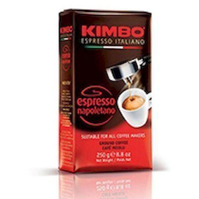 Кофе Kimbo Espresso Napoletano молотый вак/уп