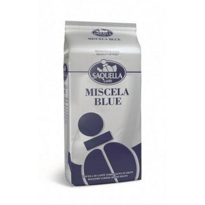 Кофе Saquella в зернах жареный Miscela Blue