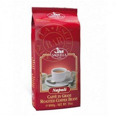 Кофе Saquella в зернах жареный Napoli Bar
