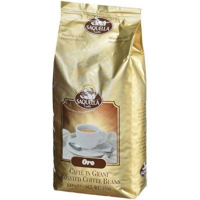 Кофе Saquella в зернах жареный Oro