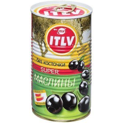 Маслины ITLV SUPER без косточки ж/б