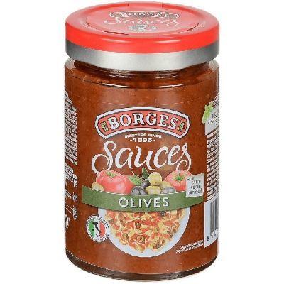 Соус Borges томатный с оливками и маслинами с/б