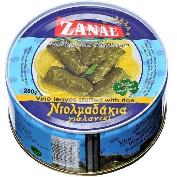 Долма Zanae виноградные листья фаршированные рисом