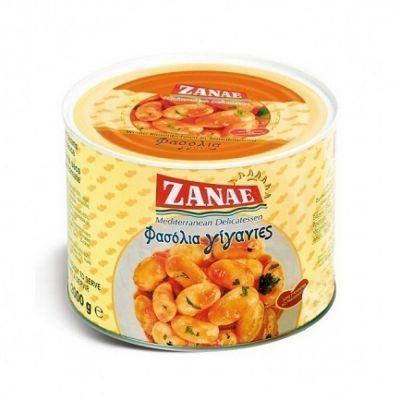 Фасоль Zanae гигантская печёная в томатном соусе ж/б