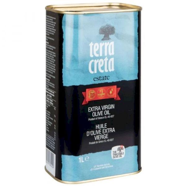 Оливковое масло Terra Creta Extra Virgin ж/б