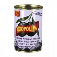 Маслины S Coopoliva c косточкой 280/320 ж/б