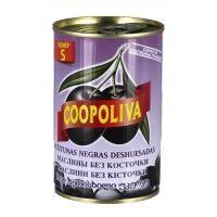 Маслины S Coopoliva без косточки 280/320 ж/б