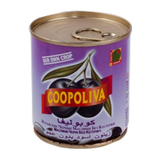 Маслины Coopoliva без косточки ж/б