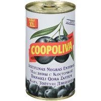 Маслины Coopoliva c косточкой ж/б