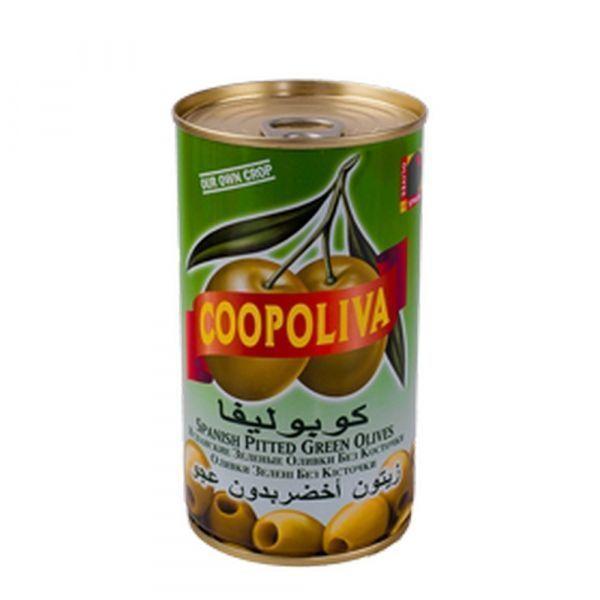 Оливки Coopoliva без косточки ж/б