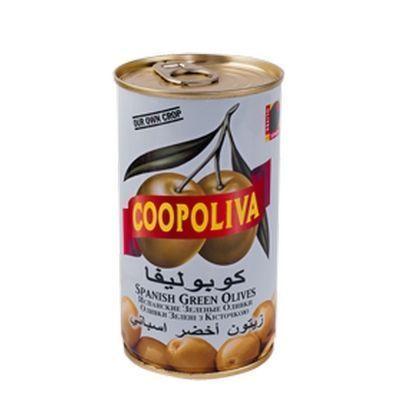 Оливки Coopoliva c косточкой ж/б