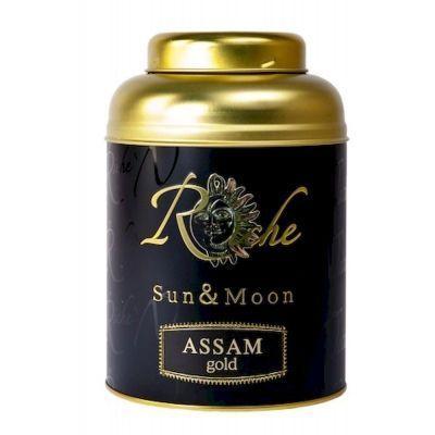 Чай Riche Nature черный крупнолистовой Assam Gold ж/б