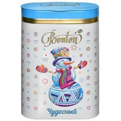 Чай Bonton Чудесный пеко черный крупнолистовой ж/б