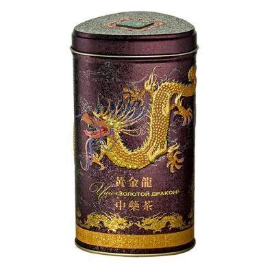 Чай Зеленая Панда оолонг Золотой Дракон ж/б