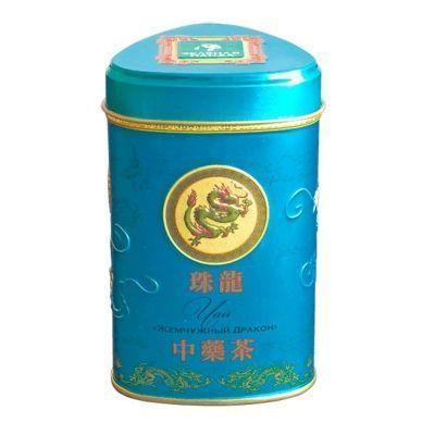 Чай Зелёная Панда зеленый крупнолистовой с жасмином Жемчужный Дракон ж/б