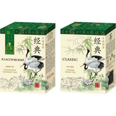 Чай Зеленая Панда Классический зеленый байховый китайский крупнолистовой