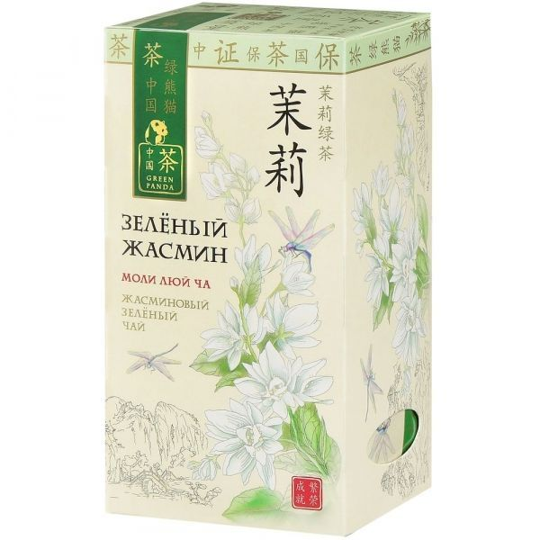 Чай Зеленая Панда зеленый Жасмин 25 пак. ф/конв