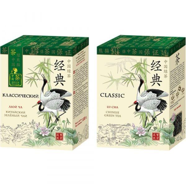 Чай Зеленая Панда зеленый крупнолистовой Классический карт