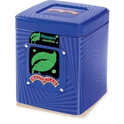 Чай Мастер Тим оолонг молочный крупнолистовой Плэже ж/б синий, бирюзовый, зеленый