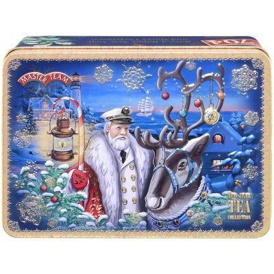 Чай Master Team Шкатулка Новогодняя сказка черный + черный ароматизированный ж/б