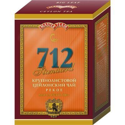 Чай Master Team Стандарт 712 чёрный крупнолистовой PEKOE картон