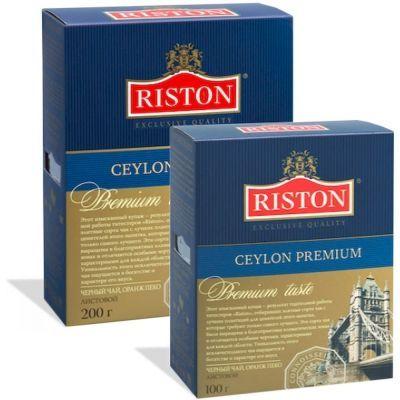 Чай Ристон Цейлонский Премиальный черный