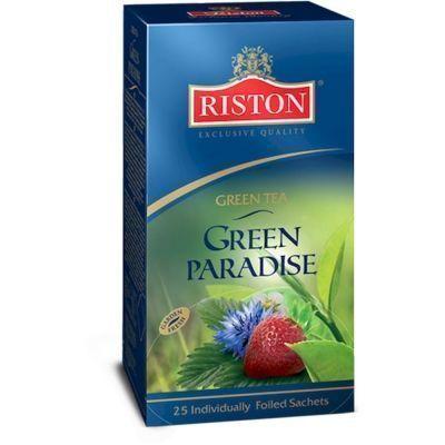 Чай Ристон Парадайз зелёный 25 пак. фольга