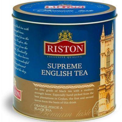 Чай Ристон черный Суприм Английский OPA ж/б