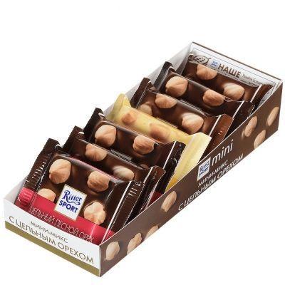 Шоколад Риттер Спорт Мини Ассорти3 вкуса