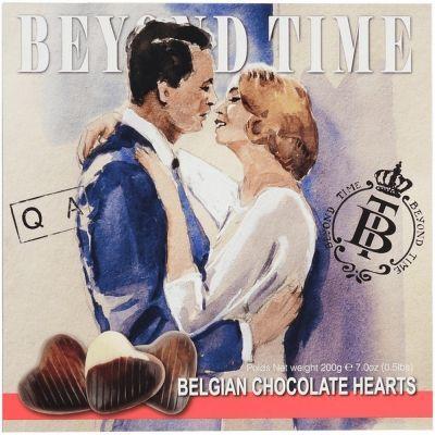 Шоколад Beyond Time Сердечки молочный
