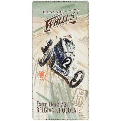 Шоколад ClassicWheels горький 72% какао