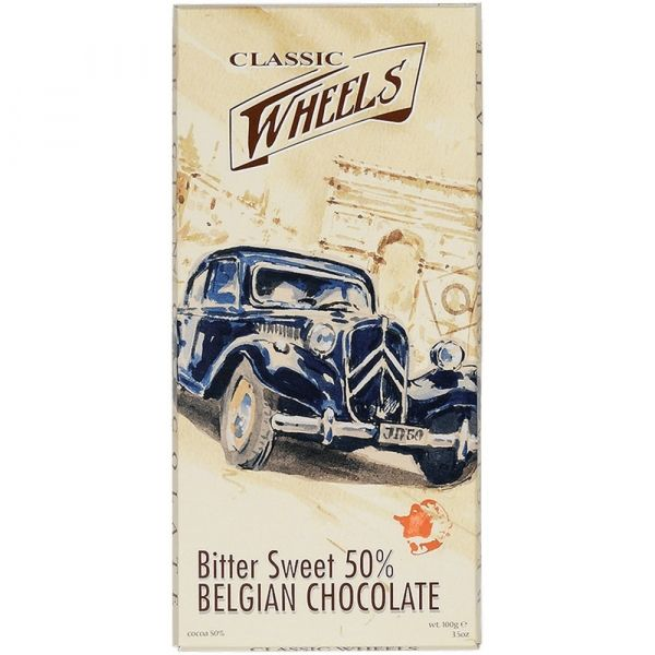 Шоколад ClassicWheels тёмный какао 50%