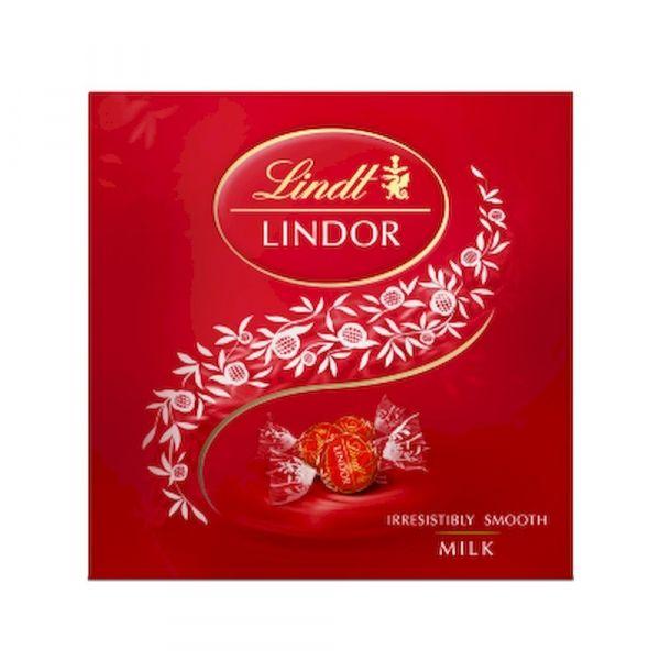 Конфеты Lindt Линдор Молочный Коробка