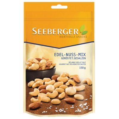 Смесь ядер орехов  Зеебергер соленые с копченым вкусом