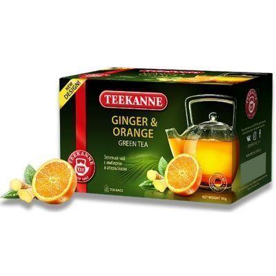 Чай Teekanne зеленый Джинжер Оранж Ginger-Orange 20 пак. конверт