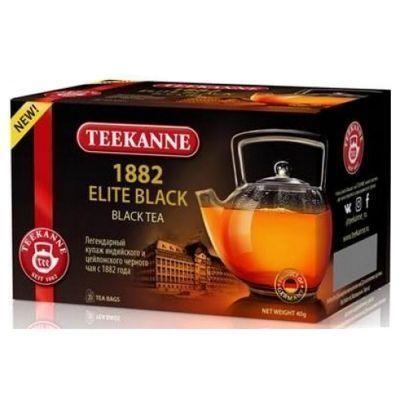Чай Teekanne черный 1882 Элит Блэк 1882 Elite Black 20 пак. конверт