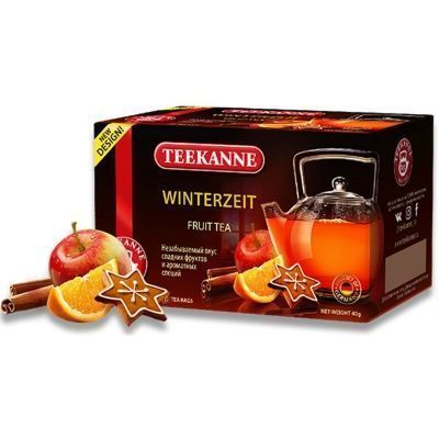 Чайный напиток Teekanne Винтерцайт Winterzeit 20 пак. конверт