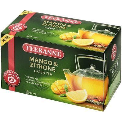 Чай Teekanne зеленый Манго-Цитрон Mango-Zitrone 20 пак. конверт