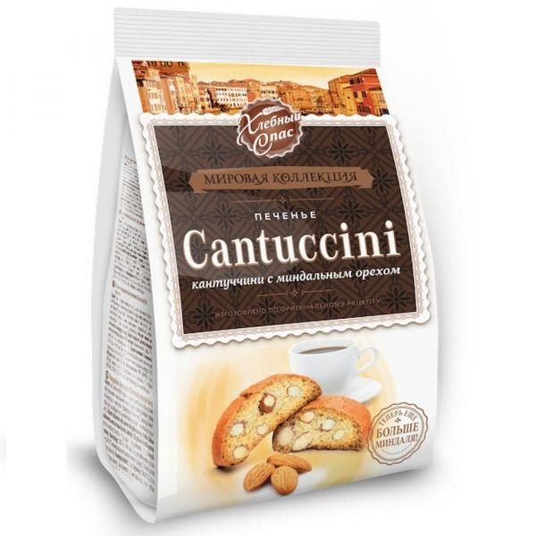Печенье сдобное Хлебный Спас Кантуччини с миндальным орехом