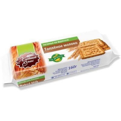Печенье сахарное Хлебный Спас Со вкусом Топленого молока на фруктозе