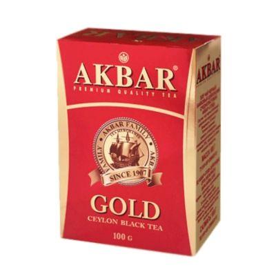 Чай Акбар черный крупнолистовой Цейлон Медаль