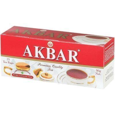 Чай Акбар Limited Edition 25 пак. с/я (красн/белая пачка)