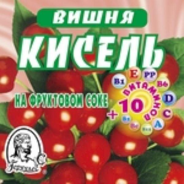 Кисель Геркулес-С вишня 10 витаминов брикет
