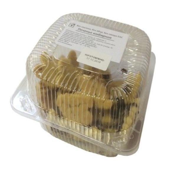 Печенье Бетула Имбирное кукурузное без глютена