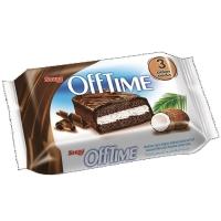 Бисквит Saray Offtime с кокосовой стружкой и какао в шоколадной глазури