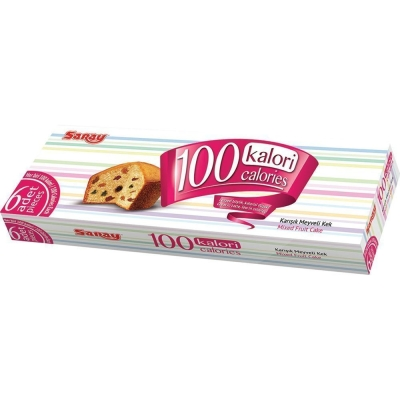 Кекс воздушный Saray 100 Calories с изюмом