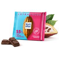 Шоколад молочный Риттер Спорт Какао 55% со вкусом Ганы