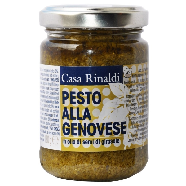 Крем-паста песто Casa Rinaldi Генуя в подсолнечном масле