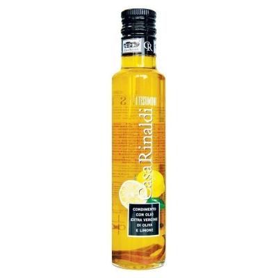 Масло оливковое Casa Rinaldi Extra Vergine с лимоном